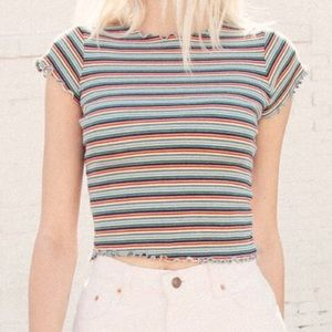 Brandy Melville multi-color top